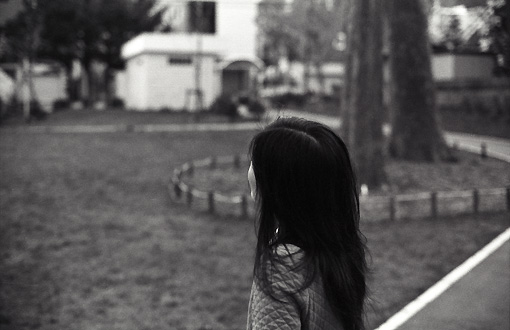 公園のガール